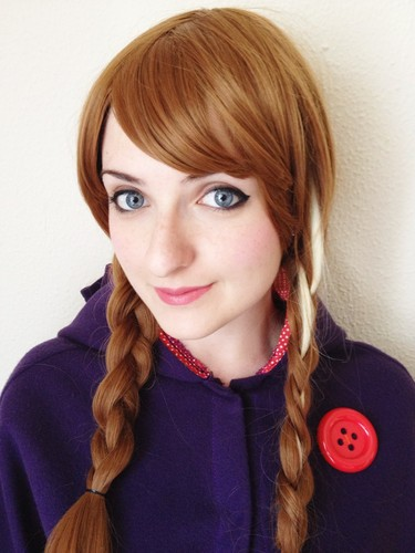 Princess Anna 바탕화면 possibly with a portrait entitled Anna Cosplay
