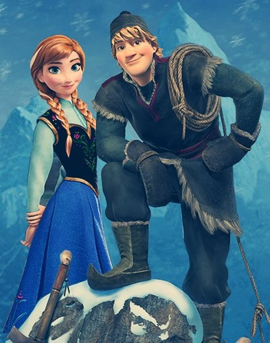Frozen images Anna and Kristoff wallpaper and background ...