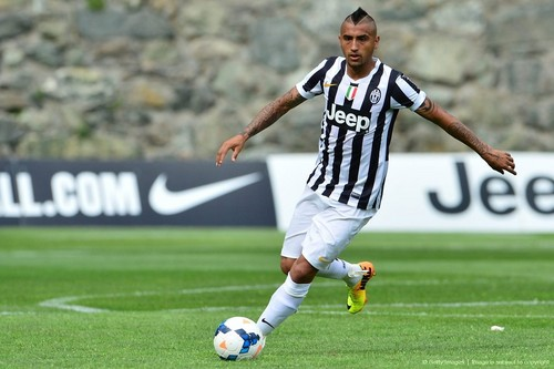 Arturo Vidal Juventus season 2013/2014