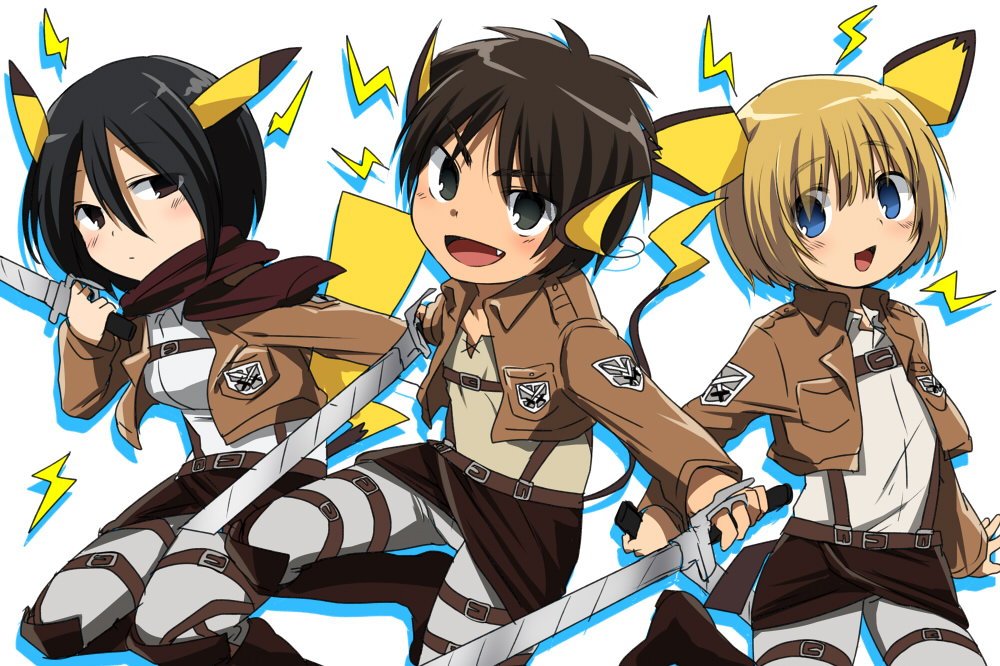 Chibi Images Attack On Titan Chibi Hd Wallpaper And Background
