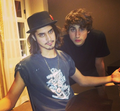 Avan Jogia and Ashton Moio