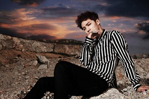 "B2ST Gikwang 写真 Teaser For ""Shadow"""