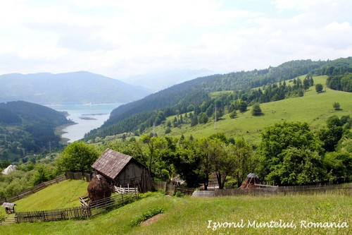 Beautiful Carpathian mountains Romania Eastern Europe scenery