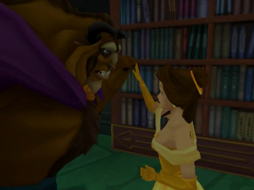 Belle In Kingdom Hearts I And II