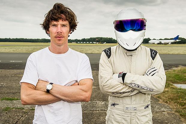 Benedict on Top Gear