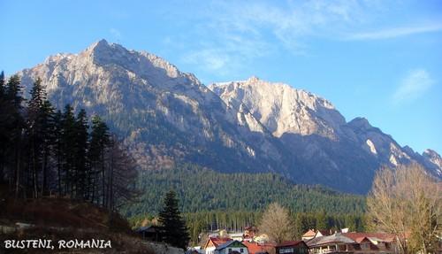 Busteni Romania ~ Carpathian mountains eastern europe