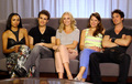 Candice and TVD cast - TV Line Interview at Comic Con 2013