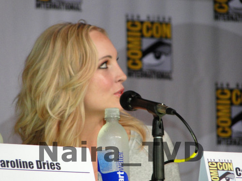 Candice at Comic Con 2013 - The Vampire Diaries Panel