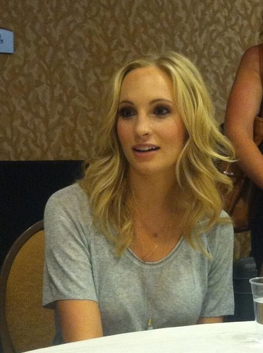Candice at Comic Con 2013