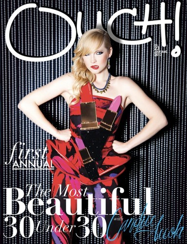 "Candice's cover for ""Ouch"" magazine [August 2013]"