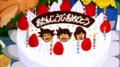 Celebration of DBF 1st Anniversary with Chichi, Gohan and Goku! :D
