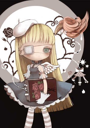 chibi wallpaper probably with a fleur de lis entitled Chibis