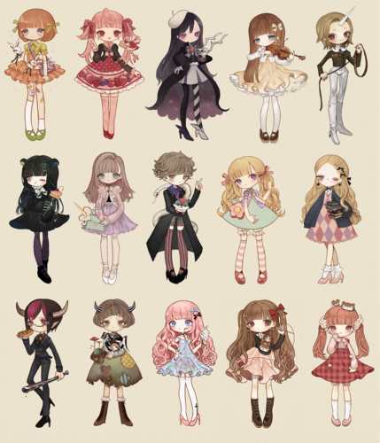 Chibi wallpaper called Chibis
