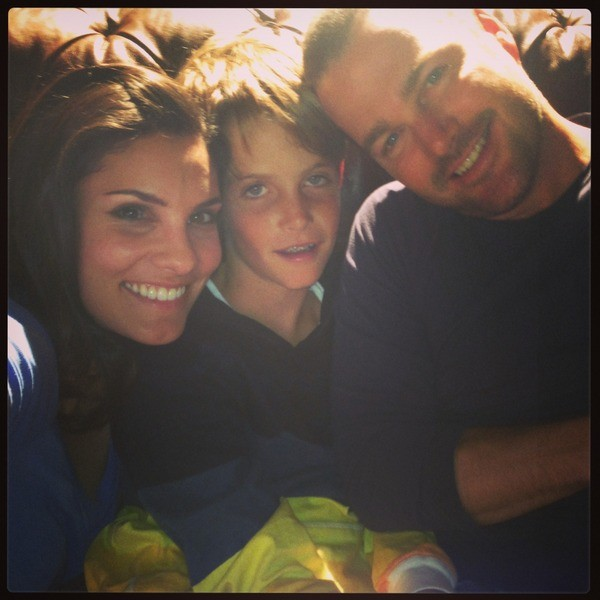 Chip & Chris O'Donnell with Daniela Ruah