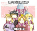 Christmas - edward-elric fan art