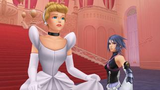灰姑娘 In Kingdom Hearts: Birth 由 Sleep