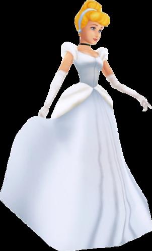 灰姑娘 In Kingdom Hearts I and Birth 由 Sleep