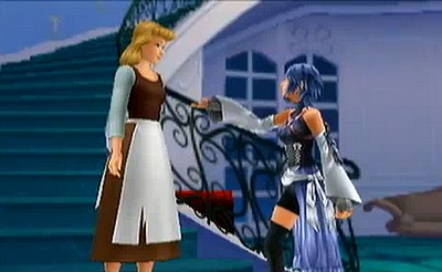cenicienta in Kingdom Hearts: Birth por Sleep