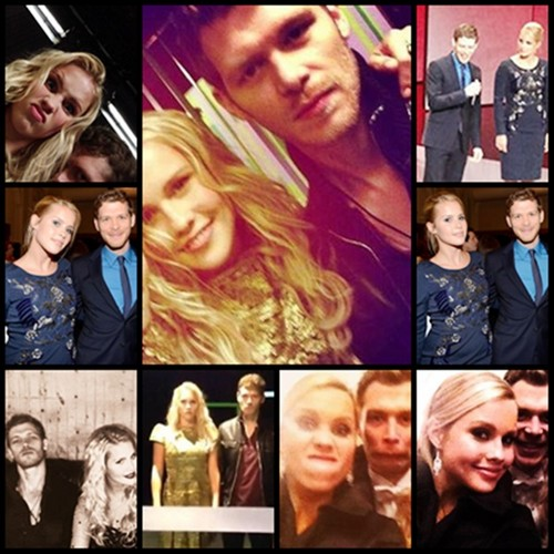Claire Holt and Joseph মরগান