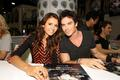 Comic Con 2013 - ian-somerhalder-and-nina-dobrev photo