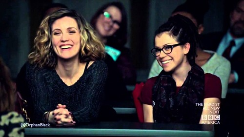 Cosima and Delphine wallpaper probably with a sign called Cophine