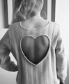Cropped heart shirt - teen-fashion photo