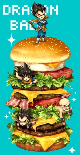 DB Boys with Hamburger!