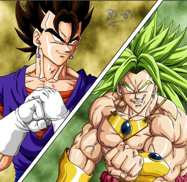Dragon Ball Z Images Dbm Broly Vs Vegito Wallpaper Photos