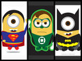 DC Heroes - despicable-me-minions fan art