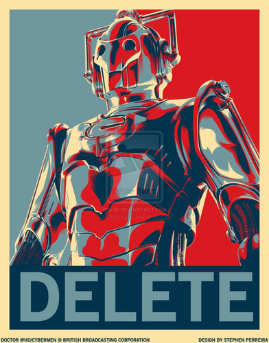 Doctor Who wallpaper titled DELETE