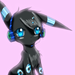 DJ shiny umbreon