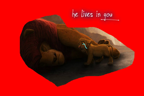 DONT LOOK AT IF あなた CRY WHEN MUFASA DIES