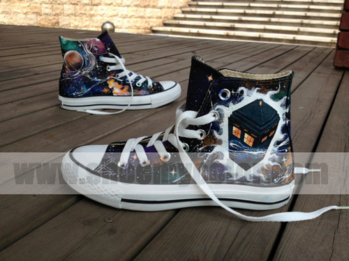 DW fashion hand painted shoes