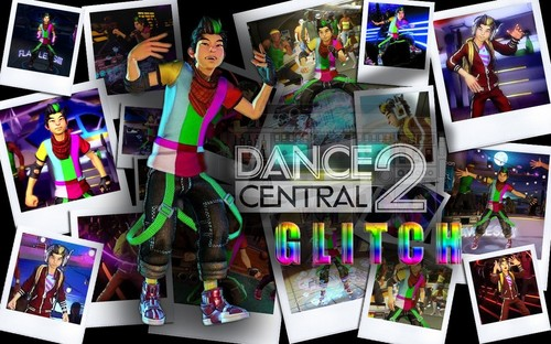 Dance Central Glitch kertas dinding