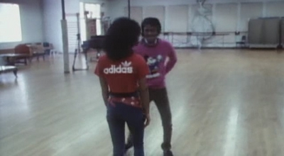"Dance Rehearsal For ""Thriller"" Video"