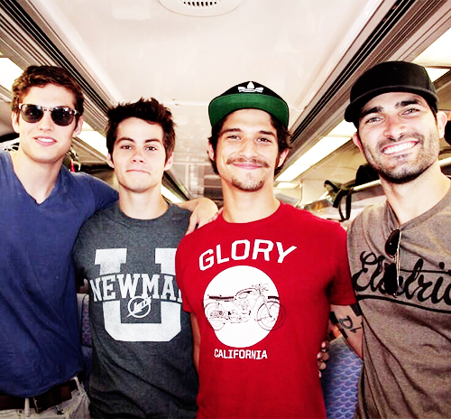 Daniel Sharman with TW Cast