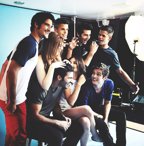 Daniel and Teen Wolf Cast