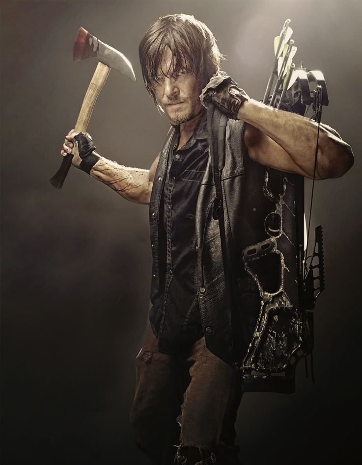 The Walking Dead Daryl Season 4 Promo Photo