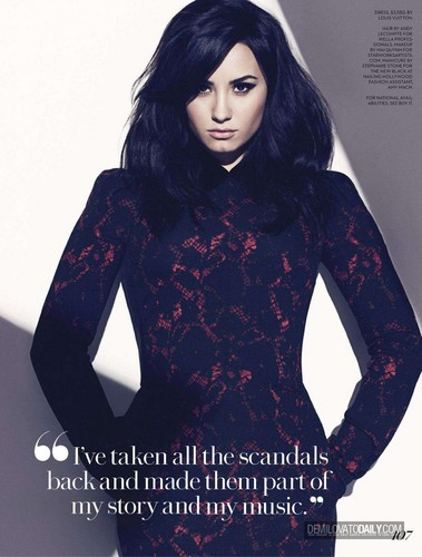 Demi - Magazine Scans 2013 - 'Fashion' August 2013