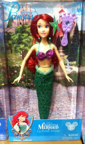 डिज़्नी Princess Ariel NEW 2013 Exclusive Doll