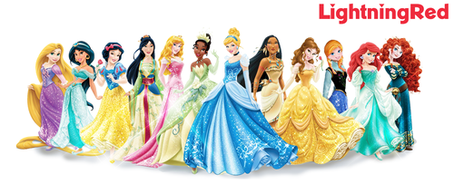 Disney Princess Line-up + Anna