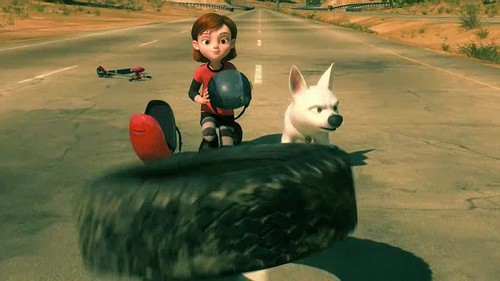 Диснеевский Вольт Обои possibly with a chihuahua entitled Disney's Bolt