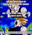 Do NOT take Vegeta's Food