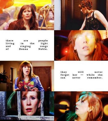 Доктор Кто Обои possibly with a newspaper, a portrait, and Аниме called Donna Noble
