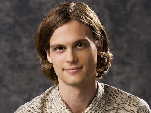 Dr. Spencer Reid Hintergrund possibly containing a pullover and a portrait entitled Dr. Spencer Reid