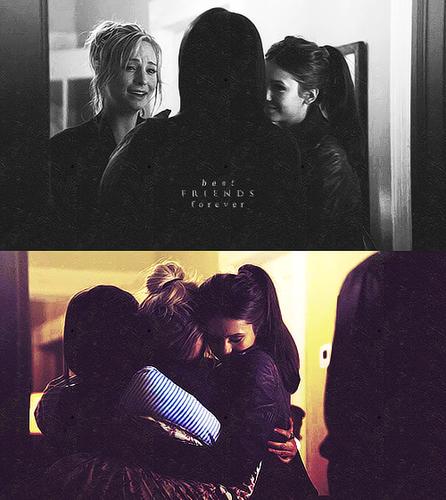 Elena, Bonnie & Caroline