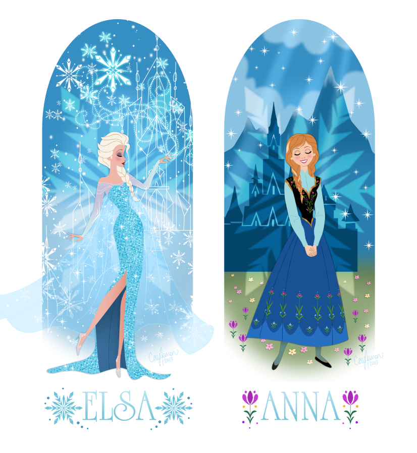 Disney s frozen anna and elsa