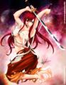Erza Scarlet!<3 - anime fan art