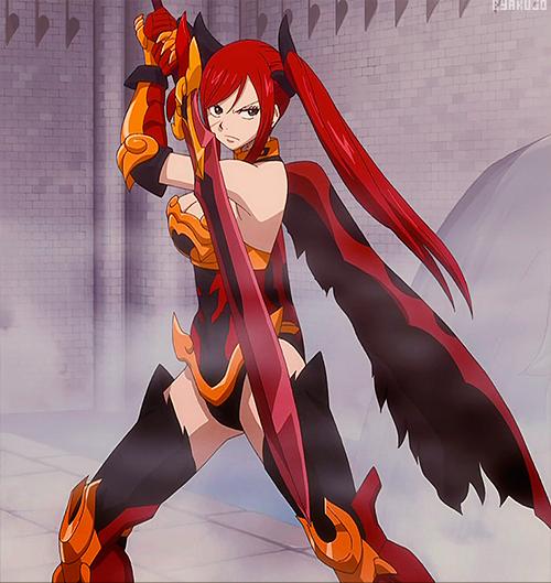 Erza Scarlet!