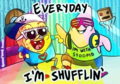 Everyday I'm Shufflin  - spongebob-squarepants photo